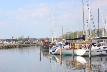 sønderborg denmark marina boats sky water masts
