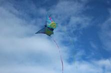 grenaa sky grena denmark kite blue