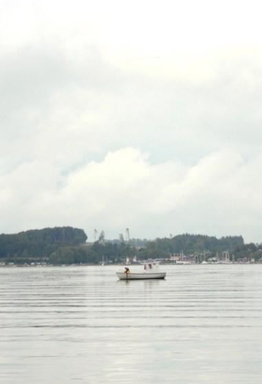 bay genner fjord denmark water tranquil denmark