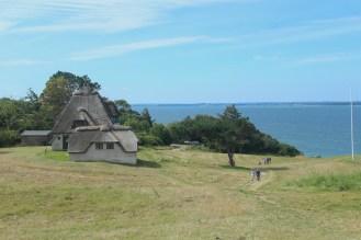hundested seeland denmark sunset coast house