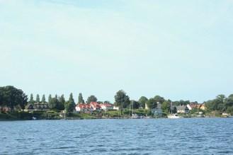 troense sound sund svendborgsund water houses coast summer denmark
