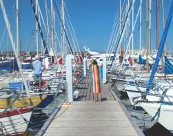 gilleleje denmark seeland coast boats blue