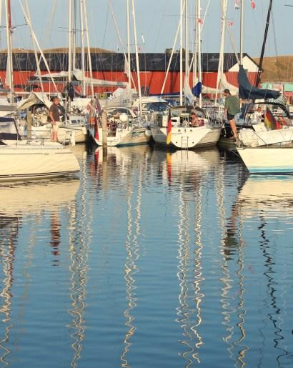 sejero boats harbour blue sky water denmark island boatingthebaltic.com