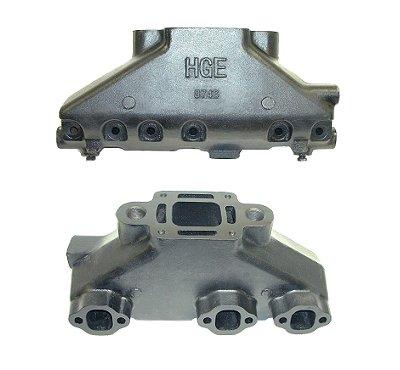 hge 9746 mercruiser 4 3 liter v6 exhaust manifold hge 9746