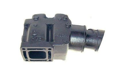 mercruiser 4 exhaust elbow riser replaces 44354