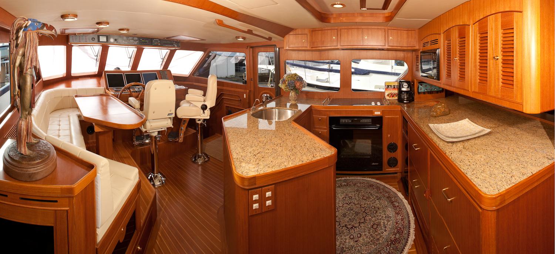Pano Bridge Yacht Photography