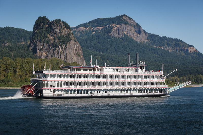 Stern Wheeler On Columbia River Yacht Photography