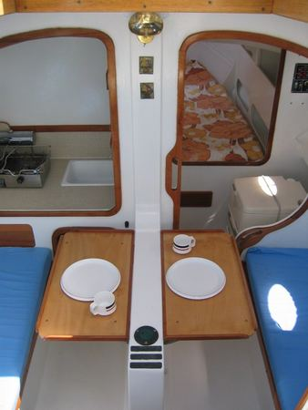 Penguin A Classic Trailer Yacht With Serious Space Inside