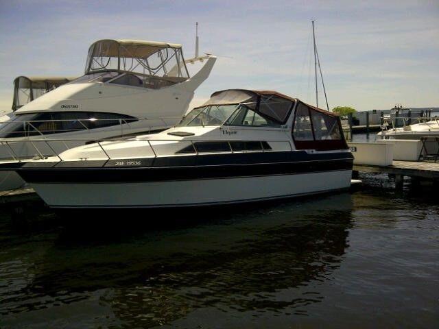 Boat Cabin Cruiser Elegante 1987 29 Ft 1987 For Sale For