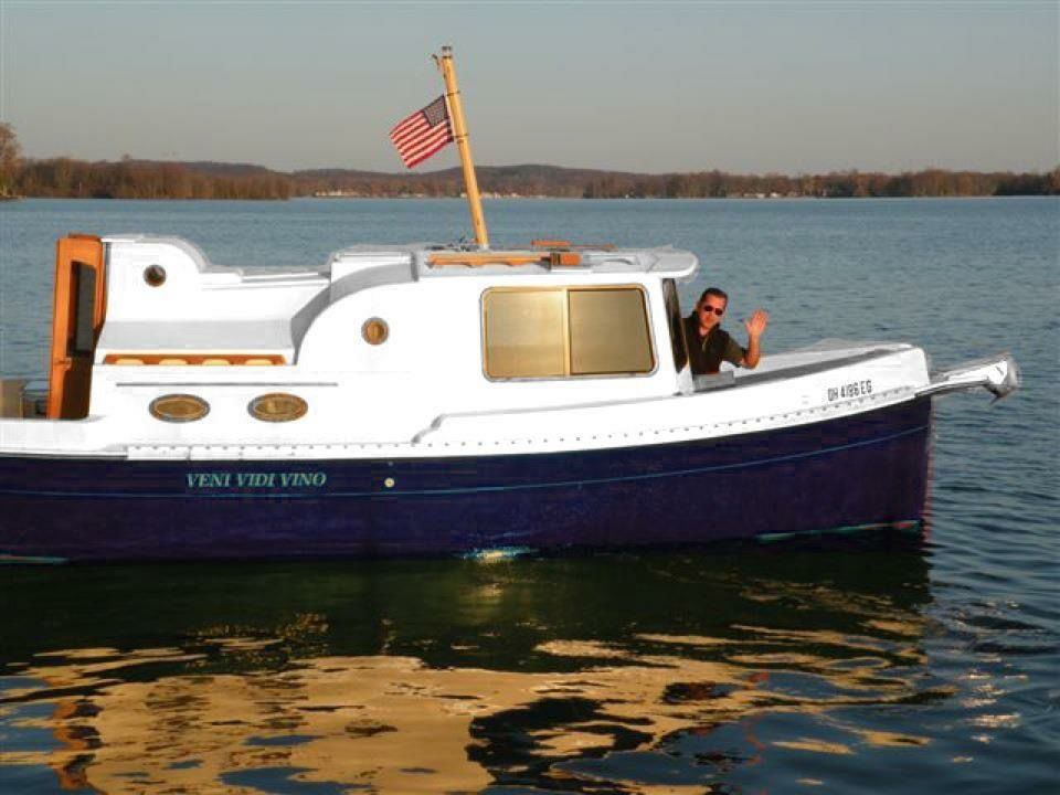 Nimble Nomad Trailerable Pocket Trawler Boat For Sale From USA