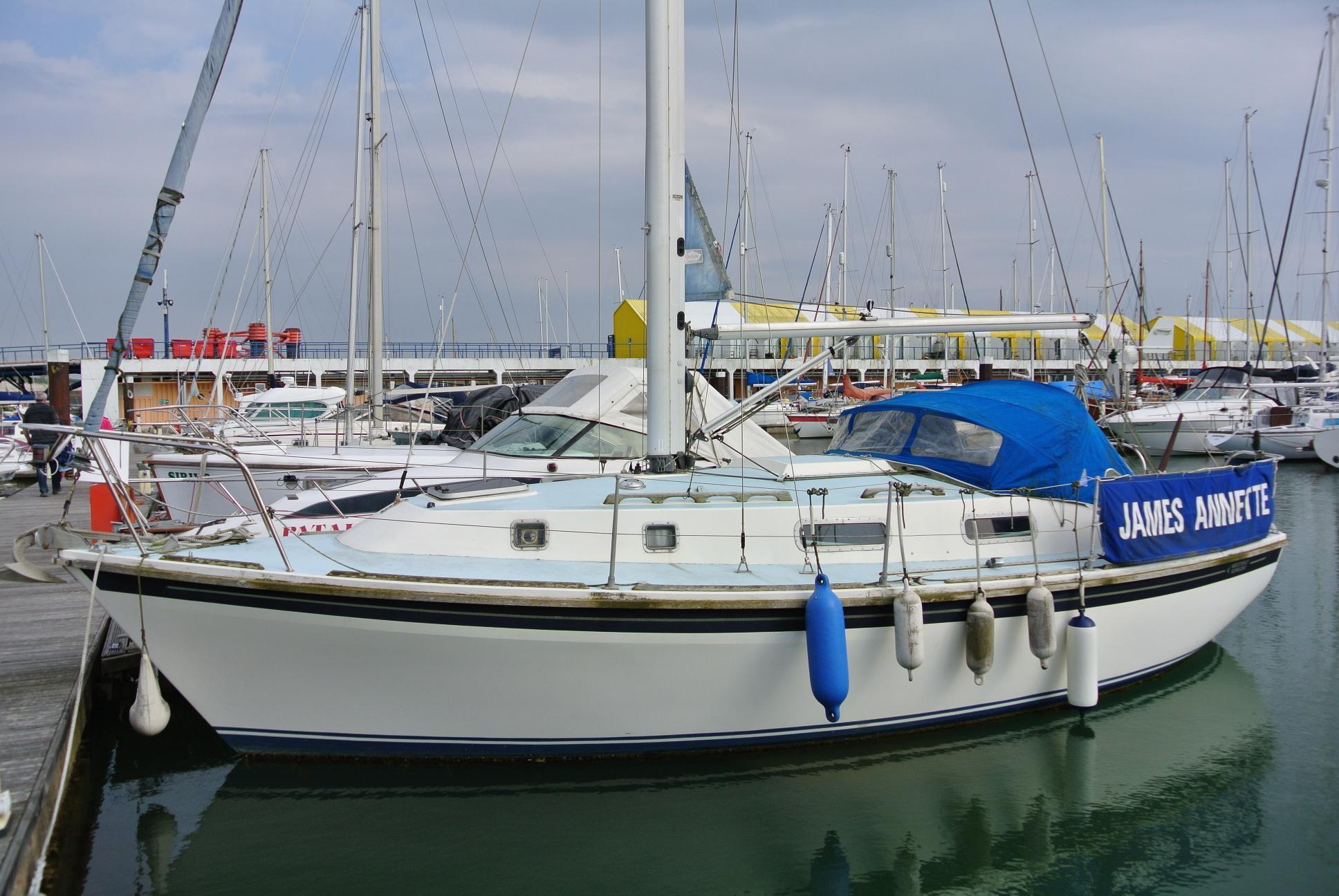 Westerly Yachts Westerly 29 Konsort Bilge Keel Brick7 Boats