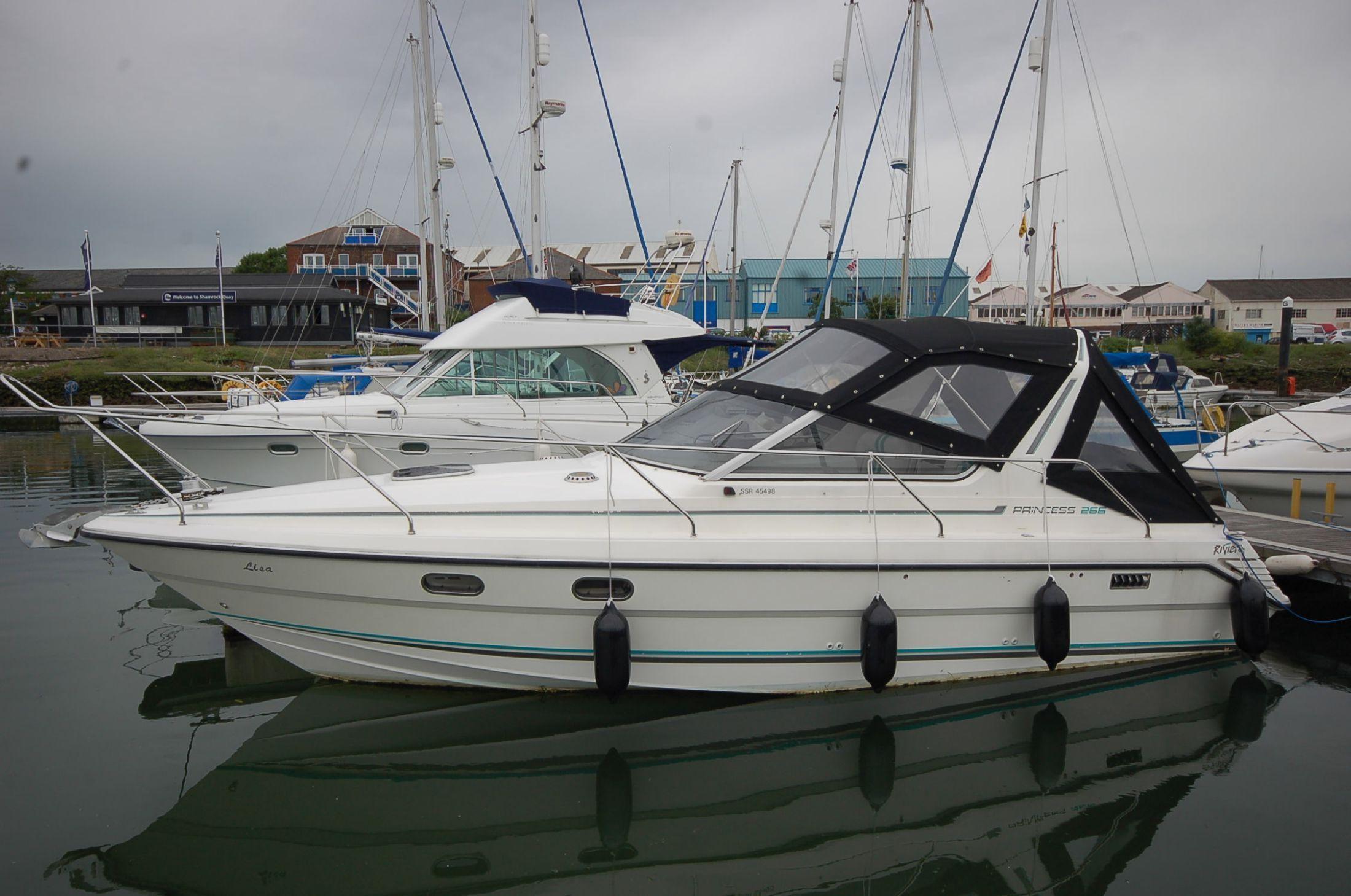 Princess 266 Riviera Brick7 Boats