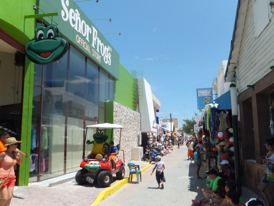 Downtown pedestrian