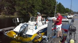 Boatwasher Fisksätra båtbottentvätt (8)