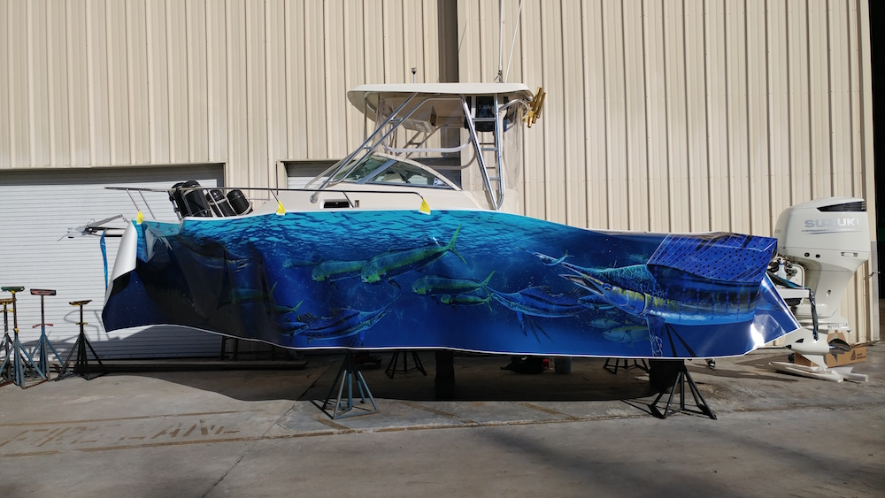 Florida Boat Wraps High Quality Boat Wraps Graphics Amp Installation Custom Boat Wraps Florida