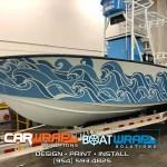 Tri Sea Seakeeper Boat Wrap Fort Lauderdale Florida