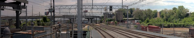 View from Wayne Junction Station 2179-2199 Windrim Avenue Philadelphia, PA Copyright 2019, Bob Bruhin. All rights reserved.