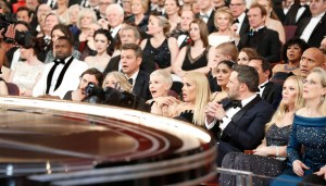 ABC's politically charged Oscars broadcast ratings lowest in nine years