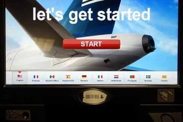 U.S.Airways terminal in airline seat scam