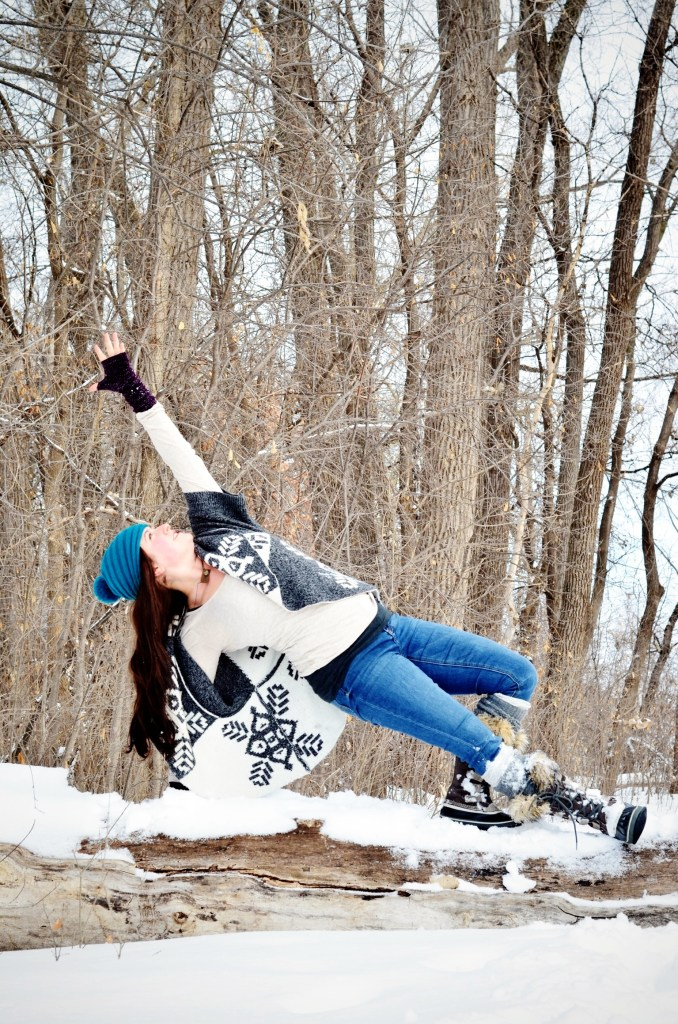 Yoga in the Snow 4