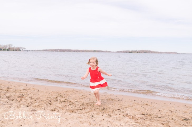 Girl at Beach Excelsior Minneapolis Minnesota Photographer