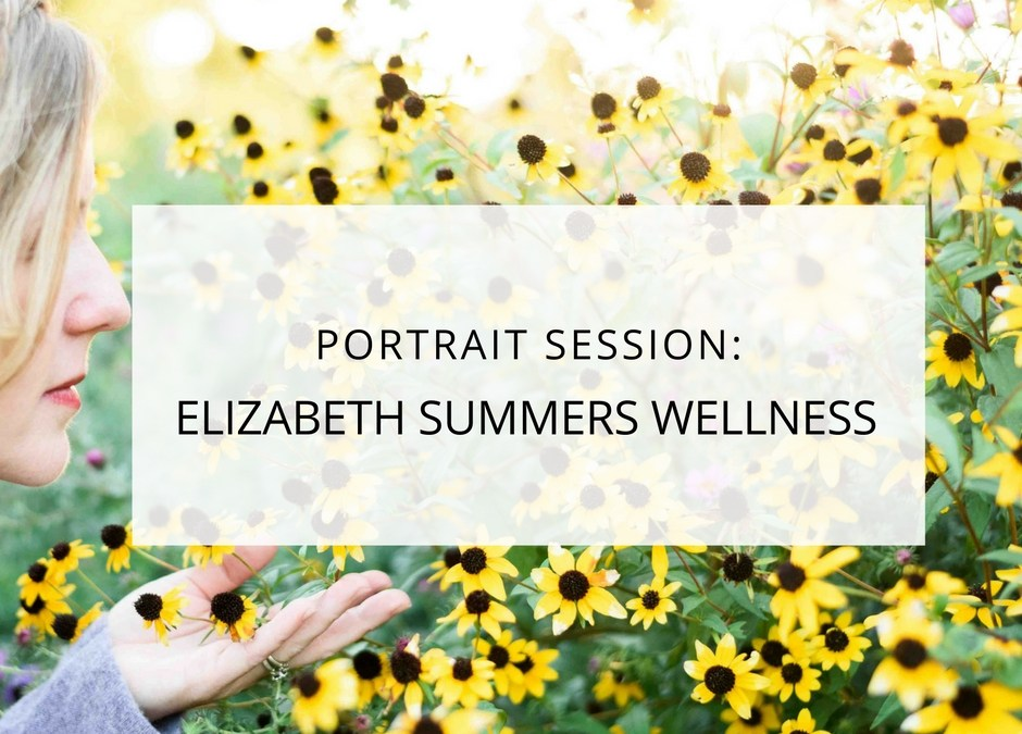 Minnehaha Falls Portrait Session: Elizabeth Summers Wellness
