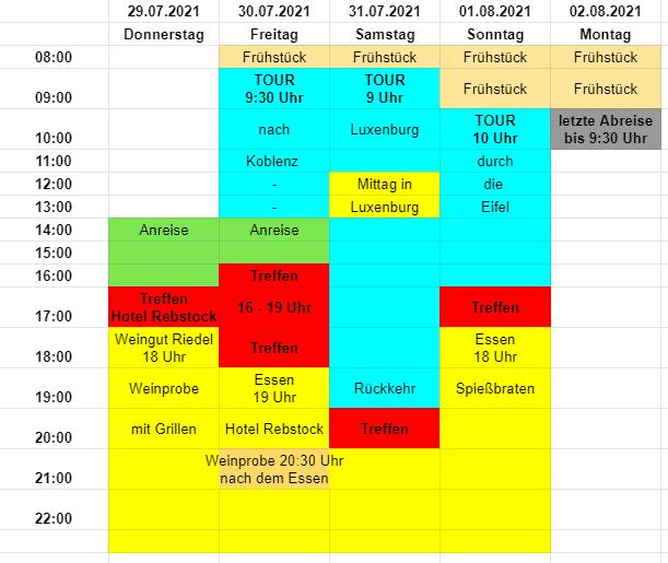 Plan BobberForum Treffen 2021