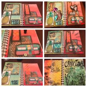 Art Journal with Gelato's