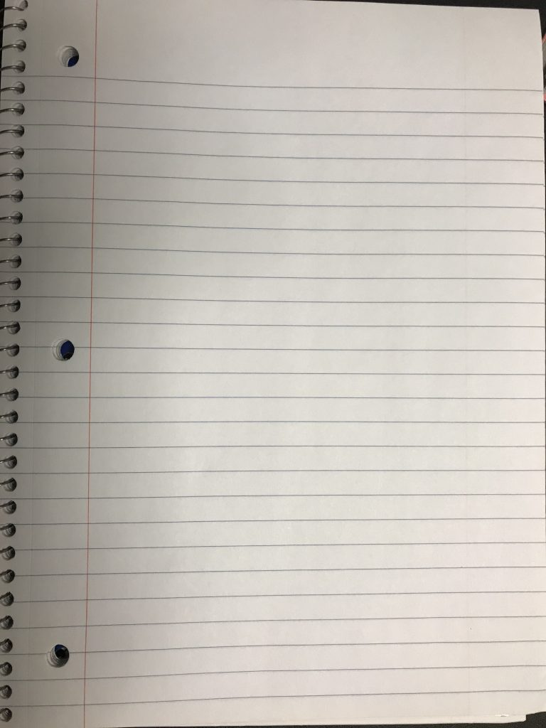 Ipad notebook paper