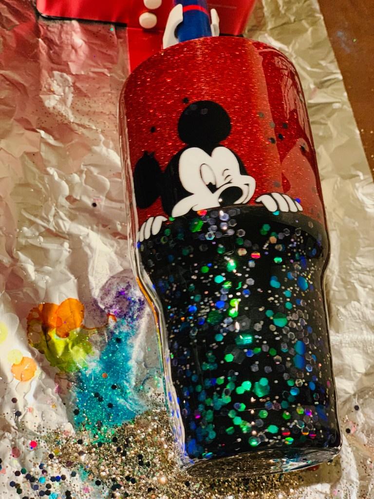 Mickey Glitter Tumbler