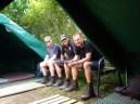 Camping with the Boys! Camino del Norte