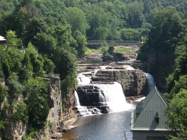 Main Falls, Ausable Chasm, Clinton County, New York