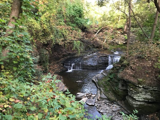 Cascadilla Upper Gorge Falls, Tompkins County, New York