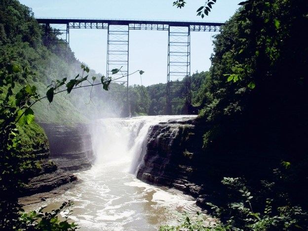 Letchworth State Park, Upper Falls