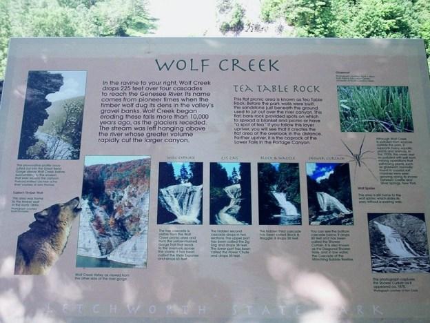 Letchworth State Park, Wolf Creek