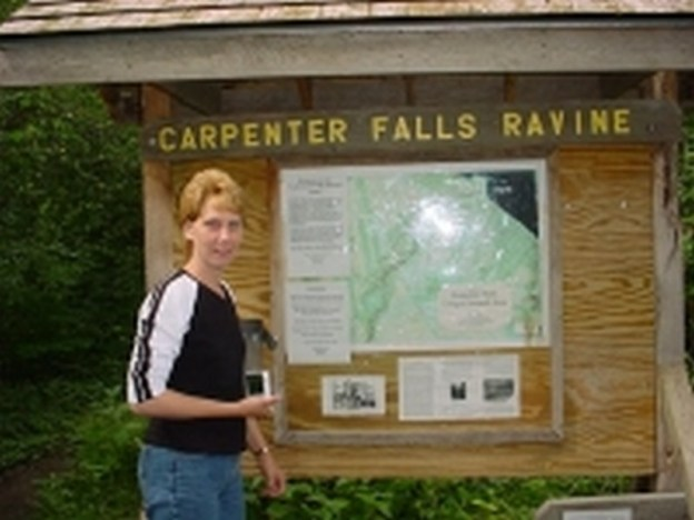 Carpenter Falls, Bahar Nature Preserve, Cayuga County, New York
