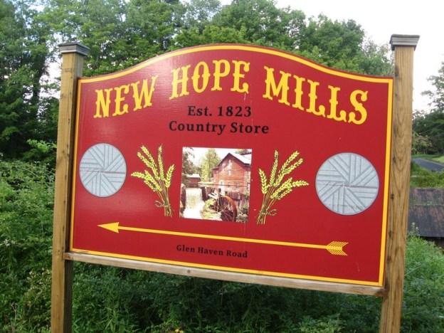 New Hope Mills, Cayuga County, New York