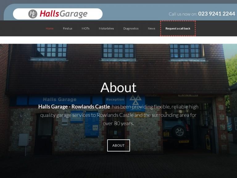 Halls Garage Services