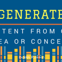 Generate Great Content From An Idea