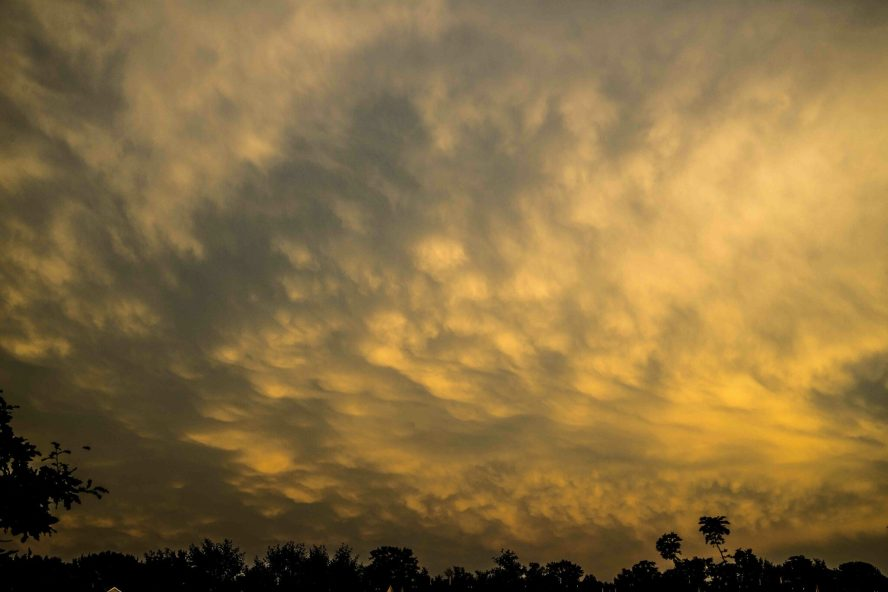Mammatus Clouds august 25, 2014  © Bobbi Rose Photogrpahy