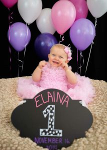 First birthday photography 2