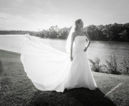 Bobbi Rose Photography - Melissa and Jason Wedding - Creative Black & White