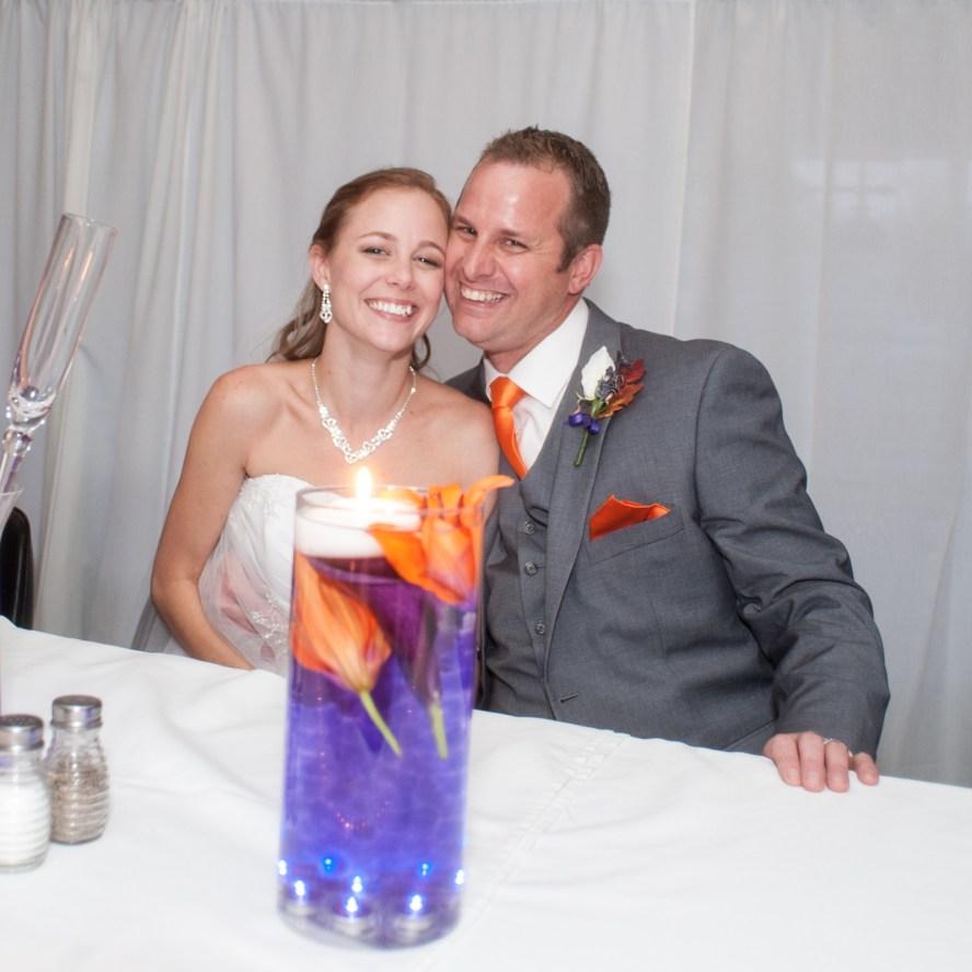 Bobbi Rose Photography - Melissa and Jason Wedding - The beautiful couple