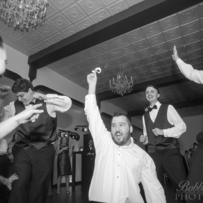 GARTER - Groomsmen - Rockford Wedding Photographer - Chicago Wedding Photography - © Bobbi Rose Photography