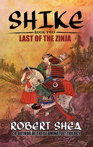 """bc cover art: """"Shike - Book Two - Last of the Zinja"""" by Robert Shea"""
