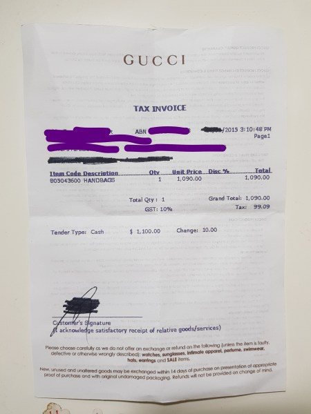 The Authenticator How To Spot A Fake Gucci Interlocking G Buckle     FAKE VS REAL GUCCI SOHO DISCO Bobbymain   How to create invoice in word  gucci outlet