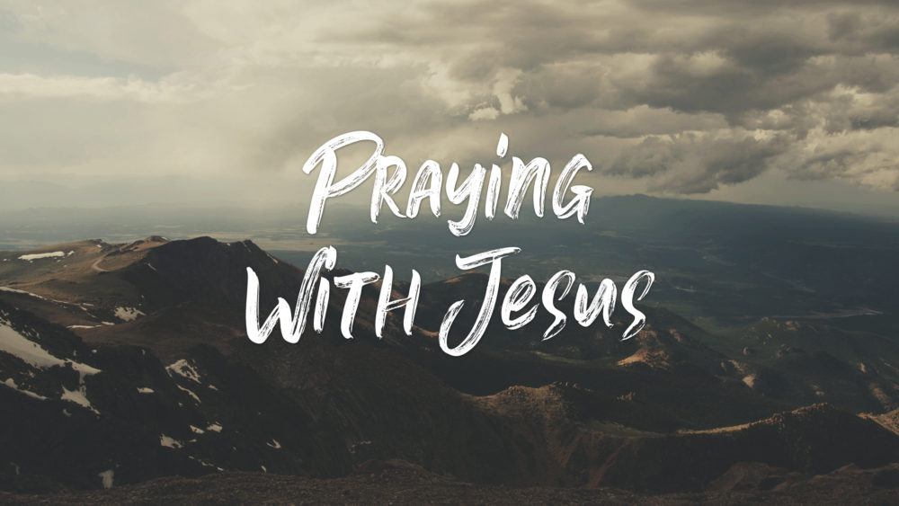 Praying with Jesus Image