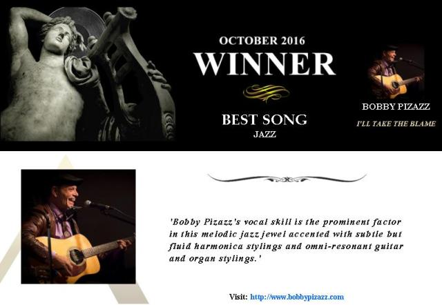 Oct 2016 The Akademia Award Best Jazz Song