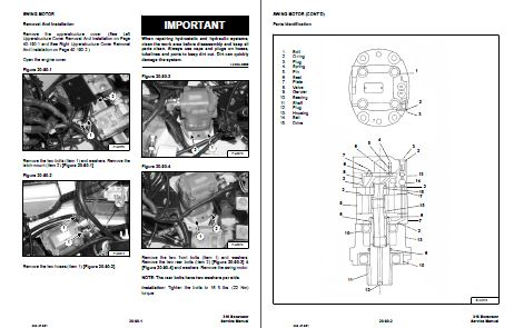 Bobcat Service Manual Example