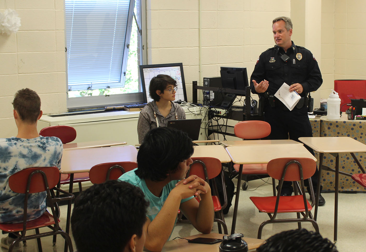 Local Police Leader Teaches New Criminal Justice Class At
